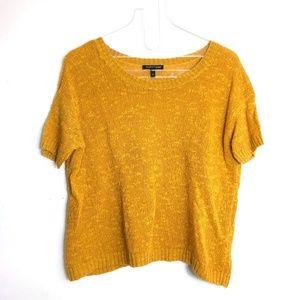 Eileen Fisher Melange Linen Blend Boxy Sweater